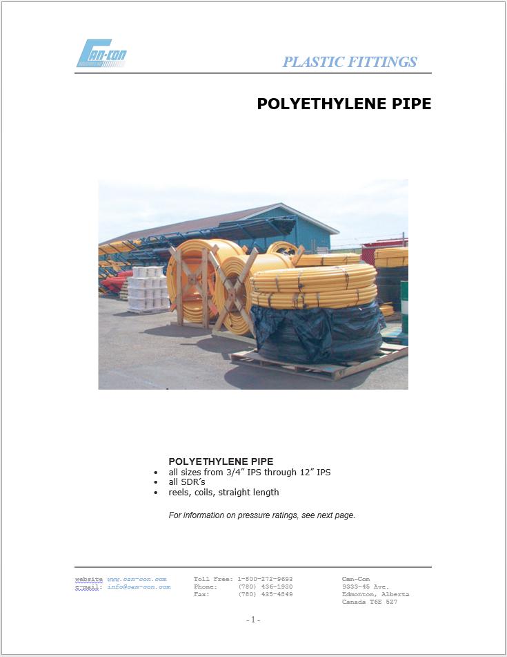 Plastic Fitting Catalogue Image